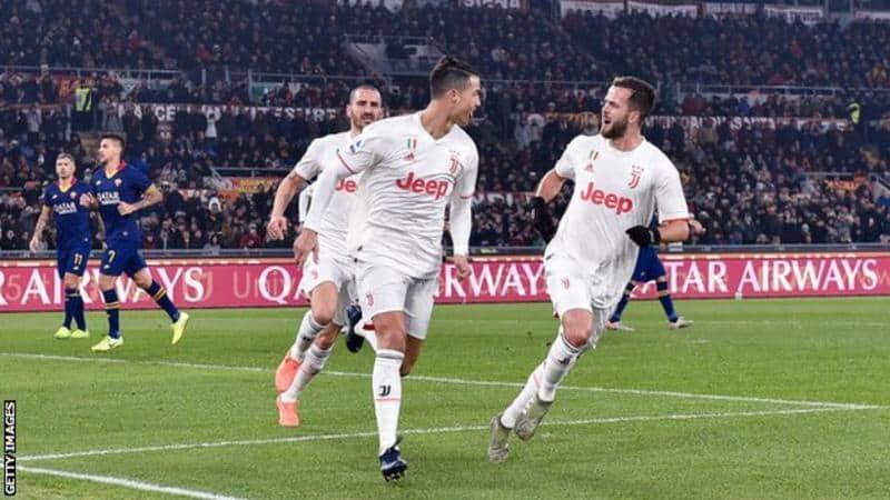 Juve Juara Mengalahkan Roma Untuk Naik Ke Puncak